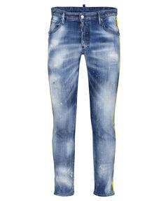 """Herren Jeans """"Skater Bleached Logo Tape"""" Extra Slim Fit"""