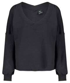 "Damen Yoga Shirt Langarm """"Off-Mat Fleece"""
