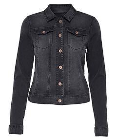 "Damen Jeansjacke "" Chris LS Black DNM Jacket BJ7627"""