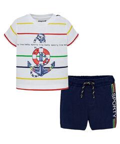 Jungen Baby Set Shorts T-Shirt
