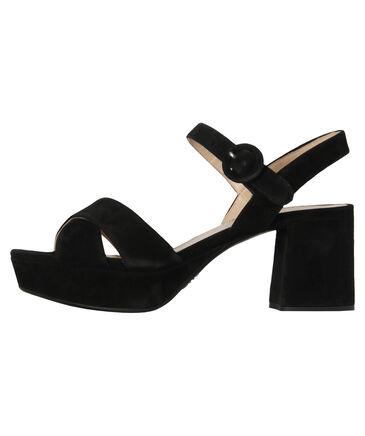 "Prada - Damen Sandaletten ""Platform Cross Sandal Suede"""