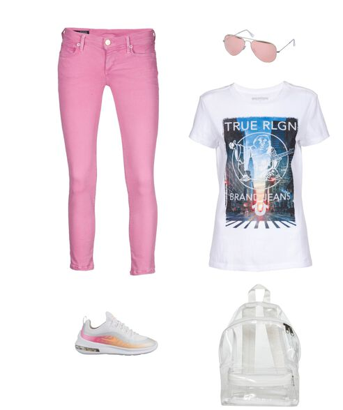 Outfit - Rosa Rote Brille