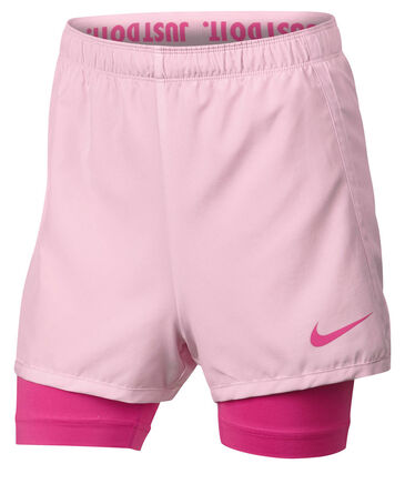 Nike - Mädchen Trainingsshorts 2in1