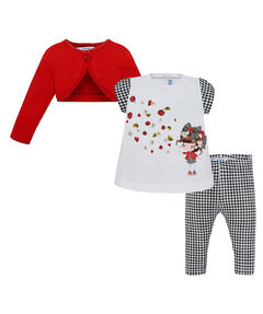 Mädchen Baby Set Leggings und  T-Shirt Bolero