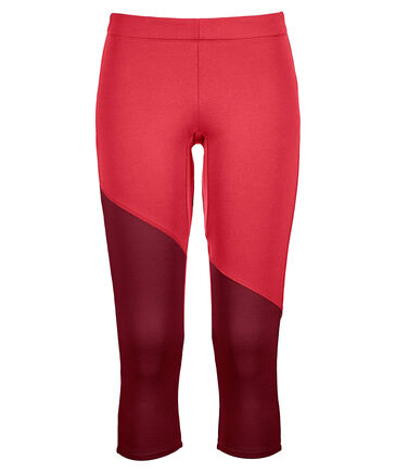 "Ortovox - Damen Bergtights 3/4-lang ""Fleece Light Short Pant"""