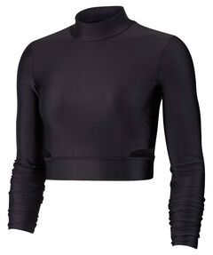Damen Fitness-Shirt Langarm