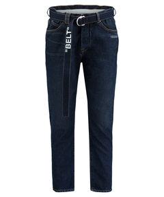 Herren Five-Pocket-Jeans Loose Fit