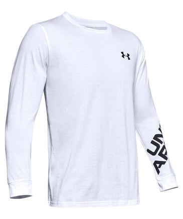 """Under Armour - Herren Shirt """"UA Wordmark Sleeve LS-BLK"""" Langarm"""