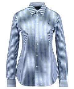 89126807d61785 Damen Bluse Slim Fit Langarm · blau. Polo Ralph Lauren