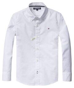 """Jungen Baby Hemd """"Solid Oxford"""" Langarm"""