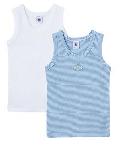 Jungen Unterhemden 2er Pack