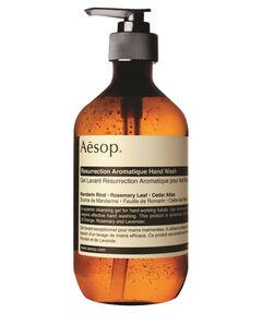 """entspr. 62 Euro / 1 Liter - Inhalt: 500 ml Reinigungsgel """"Resurrection Aromatique Hand Wash"""""""