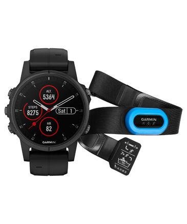 "Garmin - GPS-Multifunktionsuhr "" fēnix 5S Plus Sapphire Bundle HRM Tri Brustgurt"""