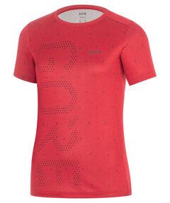 "Damen Laufshirt ""Brand Shirt Hibiscus"" Kurzarm"