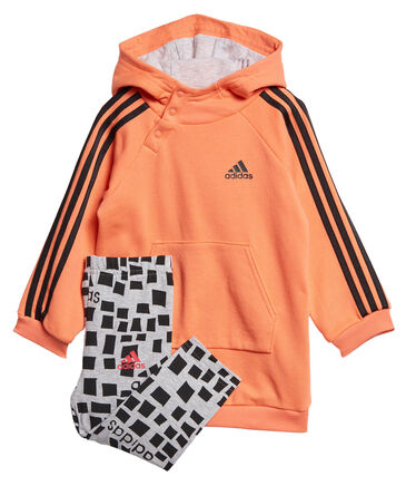 "adidas Performance - Mädchen Baby Jogginganzug ""Hooded Dress Set"""