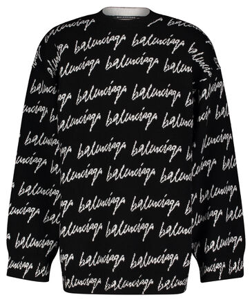 "Balenciaga - Herren Pullover ""All Over Signature"""