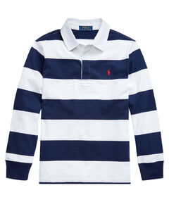 Jungen Rugbyshirt Langarm