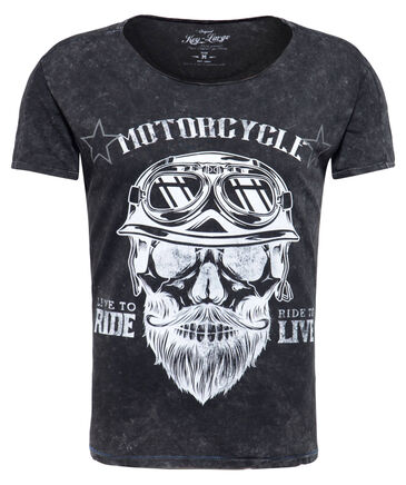 "Key Largo - Herren T-Shirt ""MT Bearded Biker"""