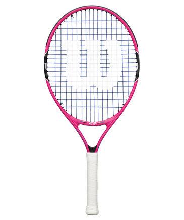 """Wilson - Kinder Tennisschläger """"Burn Pink 23"""" - besaitet - 16x17"""