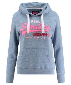 "Damen Sweatshirt ""Vintage Logo Glitter Crack Entry Hoody"""