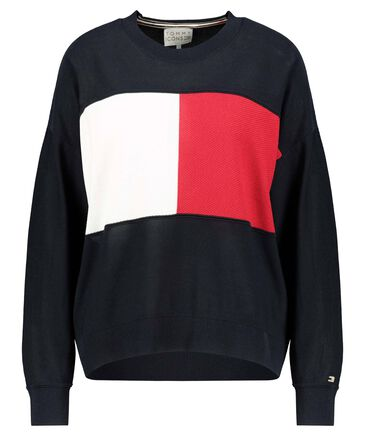 "Tommy Hilfiger - Damen Pullover ""Icon Flag C-NK Sweater"""