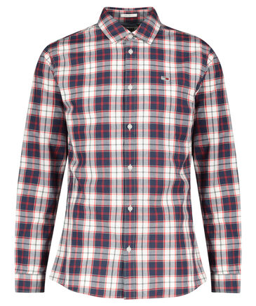 Tommy Jeans - Herren Freizeithemd Regular Fit Langarm