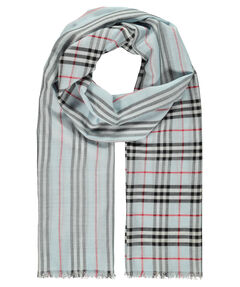 "Damen und Herren Webschal ""Check to Stripe Gauze"""