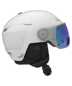 "Damen Skihelm mit Visier ""Icon LT Visor"""