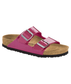 "Damen Sandalen ""Arizona Electric Metallic Magenta"""