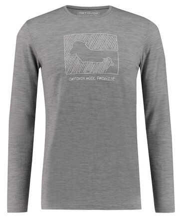 """Ortovox - Herren Shirt """"185 Merino Contrast M"""" Langarm"""