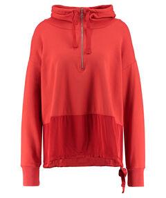 Damen Sweatshirt mit Kapuze Langarm