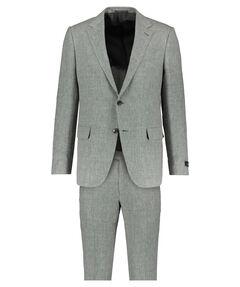 Herren Leinen Seide Anzug