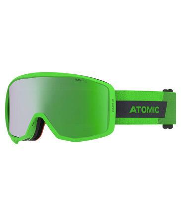 """Atomic - Kinder Skibrille """"Count JR Cylindrical"""" Green"""