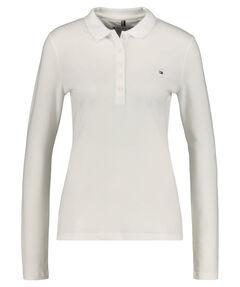 Damen Poloshirt Slim Fit Langarm
