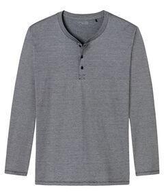 Herren Pyjama-Oberteil Langarm