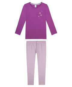 Mädchen Pyjama zweiteilig lang