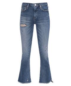 "Damen Jeans ""New Halle Flaire"" Skinny Fit verkürzt"