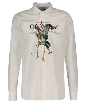 """Off-White - Herren Hemd """"Pascal Skeleton"""" Langarm"""