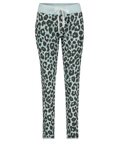 "Damen Sweathose ""Fleece Trousers Ocean Leopard"""