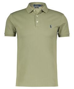 Herren Poloshirt Slim Fit Langarm
