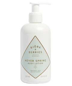 "entspr. 130 Euro/ 1.000ml - Inhalt: 250ml Body Lotion ""Never Spring"""