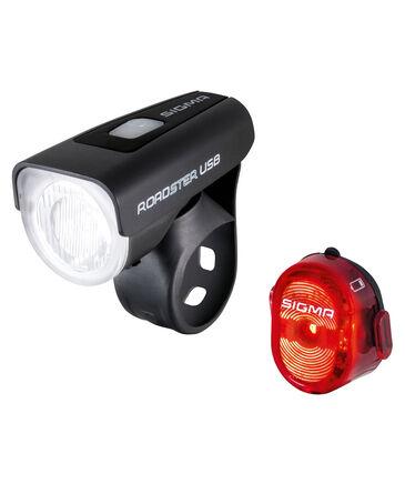 "Sigma - Fahrrad Beleuchtungsset ""Frontleuchte Roadster USB / Rückleuchte Nugget II"""