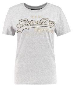 """Damen T-Shirt """"Logo Emb Outline Entry Tee"""""""