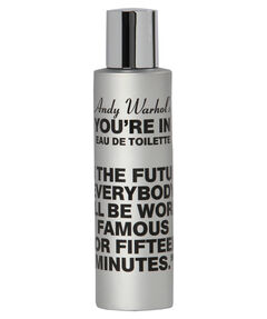 "entspr. 119,90 Euro / 100 ml - Inhalt: 100 ml Parfum ""In the future everybody will be world famous for fifteen minutes."""