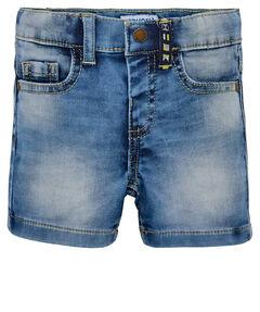 Jungen Baby Jeans-Bermudas