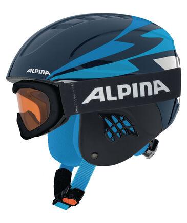 """Alpina - Kinder Skihelm """"Carat"""" mit Skibrille """"Ruby S SH"""" Set"""