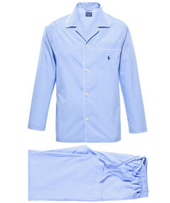 Herren Pyjama zweiteilig lang