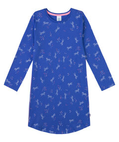 Mädchen Nachthemd Langarm