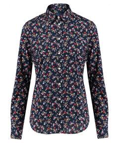 """Damen Bluse """"Scribbled Floral"""" Langarm"""