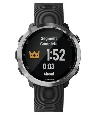 """Garmin - GPS-Laufuhr mit Musik """"Forerunner 645 Music"""" schwarzes Armband"""